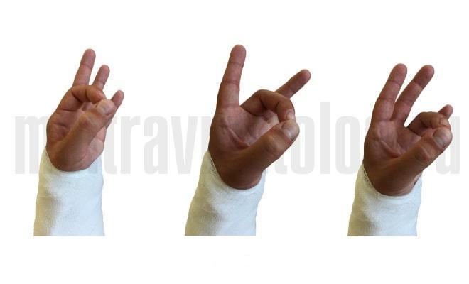упражнения при переломе пальцев рук